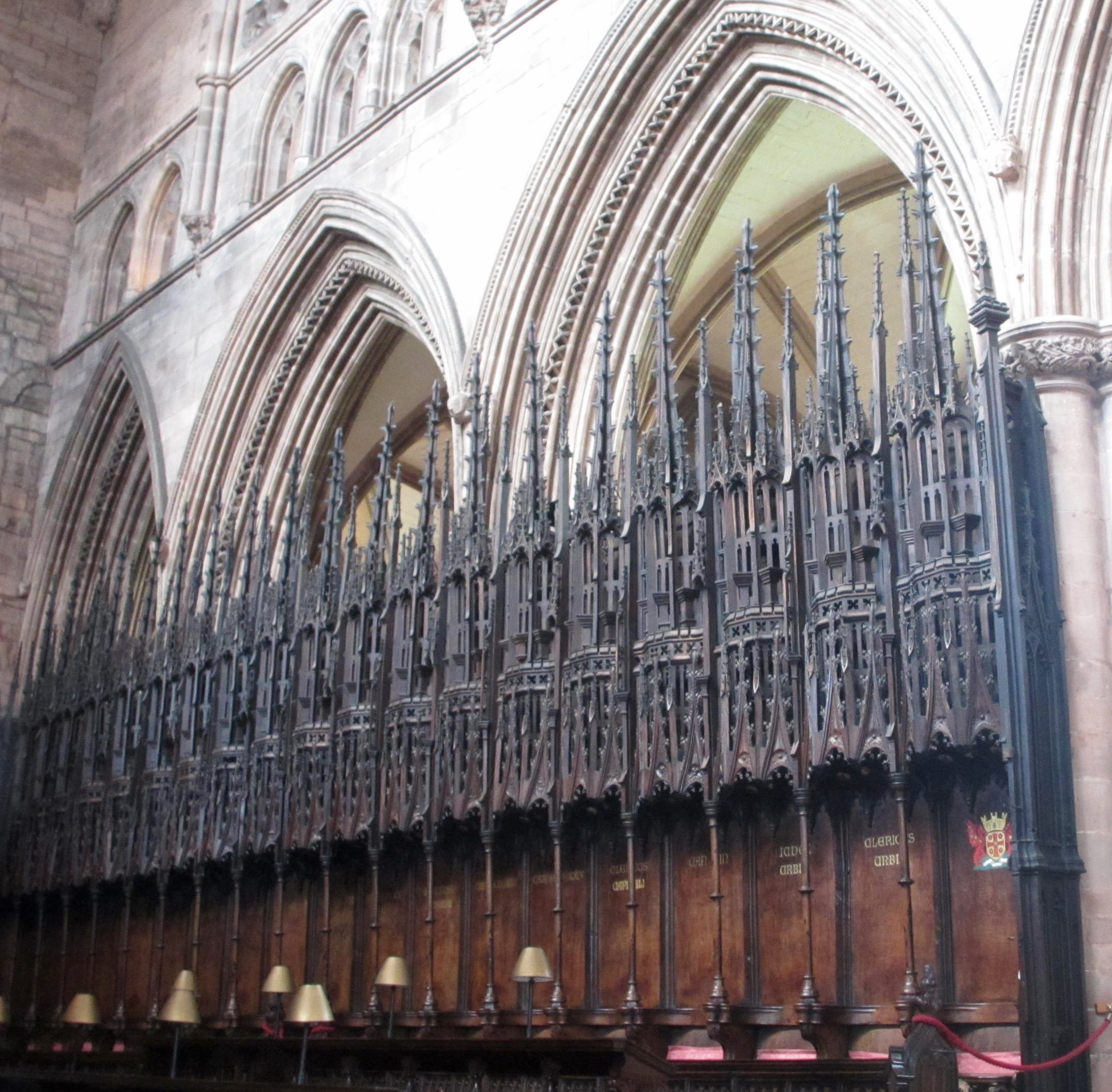 visit to carlisle cathedral