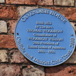 Image of Blue Plaque Cavendish House