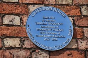 Image of Blue Plaque Cavendish House